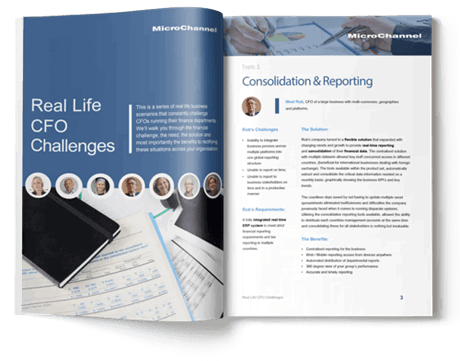 real life cfo challenges eBook | MicroChannel