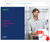 Sage X3 Capabilities Guide
