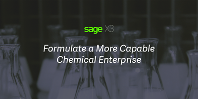 Sage X3 chemical