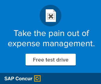 Take the pain out of expense management - Click for free test drive