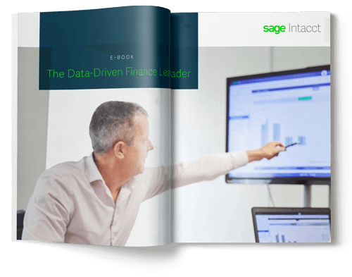 sage intacct data driven finance leader