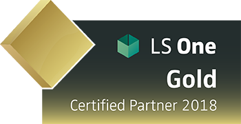 LS One Gold Certified Partner 2018