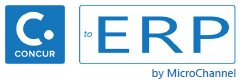 Concur-to-ERP