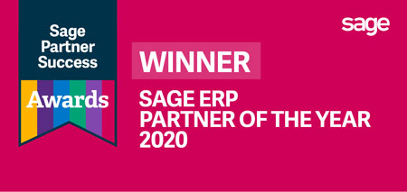 Sage ERP Partner of the Year - Sage Best ERP Partner